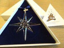Swarovski : Christmas ornament  Star 1995.