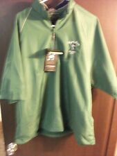 Roger Maris Page & Tuttle green Jacket 1/2 Zip Waterproof  Mens XL new with tag