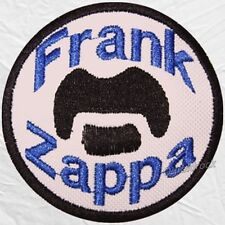 Frank Vincent Zappa Logo Embroidered Patch Joe's Garage Act Apostrophe Freak Out