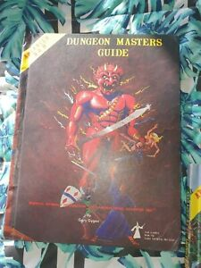 Advanced  Dungeons And Dragons Dungeon Master Guide by TSR Games, HB
