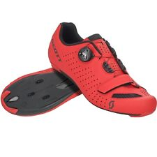 Scott Road Comp Boa Bike Cycling Shoes Red Men's Size 45 US / 11 EU
