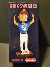 2014 Sugardale BRO-H-I-O Nick Swisher Cleveland Indians Bobblehead - MLB