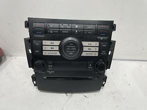 Nissan Maxima Head Unit J31 02/2002-05/2009