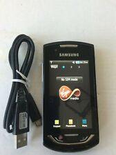 """Samsung S5620-negro teléfono móvil """"en Virgin Red"""""""