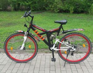 Mountainbike 28er, HILL 600, von McKenzie, rote Felgen