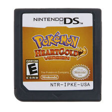 HeartGold Pokemon Game Card For Nintendo NDS NSDI NDSL Lite NDSLL US Stock