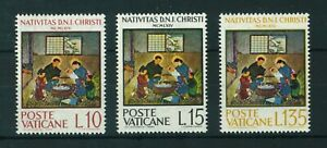 Vatican 1964 Christmas full set of stamps. MNH.Sg 439-441