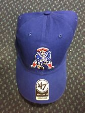 590adc557a5 47 Brand Clean Up NFL Hat Cap New England Patriots OSFA NWT