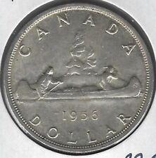 1956 Canada Dollar Coin EF-45