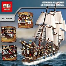 1717pcs PIRATES of THE CARIBBEAN BUILDING BLOCKS Imperial Warship LP 22001