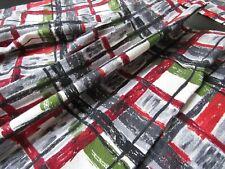 "New listing Pair Vintage Barkcloth Valances Curtains Drapes 23"" x 45"" each"