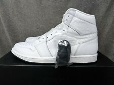 5020acf769f3 New ListingNike Air Jordan 1 Retro High OG White Perforated Leather  555088-100 Mens Size 10