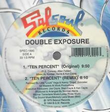 "DOUBLE EXPOSURE ~ Ten Percent/My Love Is Free 12"" DISCO MIXES (NEW & SEALED)"