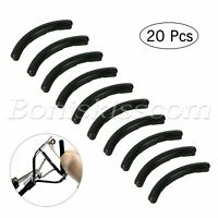 20pcs Silicone Rubber Lashes Makeup Tool Eyelash Curler Replacement Refill Pads