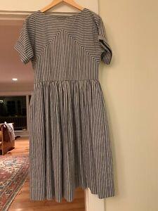 Gorgous vintage Dress Striped Sailor Christy Dawn Dôen