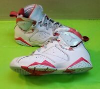 🔥👟Nike Air Jordan 7 Retro GS White Topaz Mist White 442960-104 size 2Y