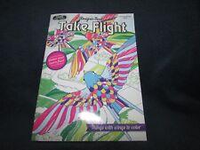 Kappa Designer Series Adult Coloring Book TAKE FLIGHT ~ Birds Butterflies Bees