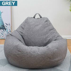 Bean Bag Chair Sofa Cover Indoor Outdoor Game Seat Cushion Couch Lazy Bags