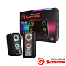 MARVO SCORPION SG-265 WITH RGB LED STEREO GAMING SPEAKERS - BLACK