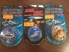 Lot Of 3 Star Trek Deep Space Nine Commander Benjamin Sisko Yo-Yo Nip Ms4