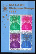 MALAWI 1964 Christmas. Souvenir Sheet, MNH