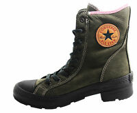 Converse All Star Ct Lady Outsider Hi Leather Black Womens Boots 525904C WH