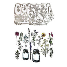 Flower Metal Cutting Dies Stencil Scrapbooking DIY Album Stamp Paper Card Emboss