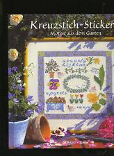 Kreuzstich-Stickerei Motive aus dem Garten Konzept Franke Reith Zählmuster