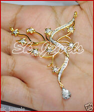 0.88cts DIAMOND 14k SOLID YELLOW GOLD WEDDING ANNIVERSARY MANGALSUTRA NECKLACE