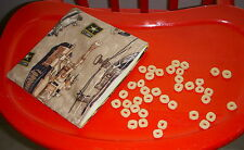 Reusable Snack Sandwich Food Storage Bag Objects Pouch Brown US Army War Tanks