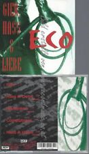 CD--ECO | --GIER,HASS & LIEBE