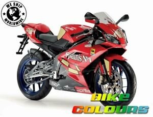 2 STAGE APRILIA TOUCH UP PAINT KIT 2007-2010 RS50 RS125 SPAINS No1 RED.