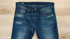 "G-Star Raw W32"" L30"" Blue Denim Jeans Men's Washed Faded 3301 Loose Straight Fit"