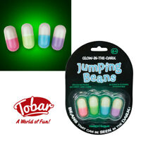 Tobar® Glow in the Dark Large Jumping Beans Fun Novelty Toy Stocking Filler
