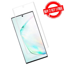 Samsung Galaxy Note 10+ PLUS Full Coverage Anti-Bubble Film Screen Protector