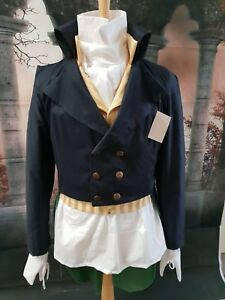 Regency Style Made To Order Frock Coat In Linen, Cotton Twill Or Bengaline