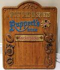 1950's Ruppert Knickerbocker Beer Bar Advertising Wall Sign Great Days in Sports