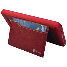 Leather Card Pocket Fitted Cases for Samsung Galaxy Note 4