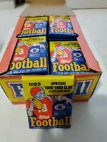 One 1988 Topps Football Unopened Wax Pack, Fresh from Box