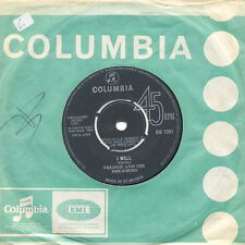FREDDIE AND THE DREAMERS I Understand I Will UK Press Columbia DB 7391 SP