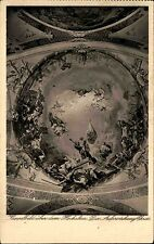 Neresheim Benedictine Abbey B/W Postcard 1939 Dome image above the high altar