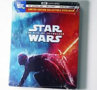 Star Wars: The Rise of Skywalker [SteelBook] [4K UHD+Blu-Ray] Factory Sealed 🔥