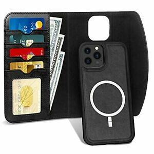 iPhone 13 Pro Max Case Magsafe Charging Magnetic Wallet Card Holder TOugh Cover