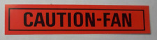Ford Cars & Mustang Caution Fan Decal  #31