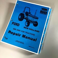 Ford New Holland 1920 2120 Tractor Service Repair Manual Se 4603 Print Version
