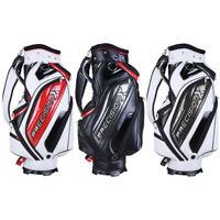 13 Clubs Golf Cart Stand Carry Bag 5 Way Divider Top Organizer Pockets Storage