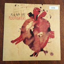 "Foo Fighters 'All My Life' 2002 UK Numbered 7"" Vinyl 45 w/Picture Sleeve # 704"