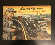 Vintage 1953 Gilbert American Flyer Trains Catalog