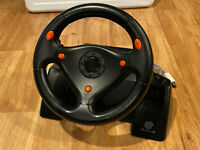 HKT-7400 Official Sega Dreamcast Racing Controller Steering Race Wheel