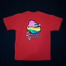 Vintage 90s Sunshine Helicopters Hawaii Maui Single Stitch Graphic T-shirt Large